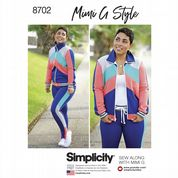 6474a9a8df671a 8702 Simplicity Pattern  Misses  Knit Trousers